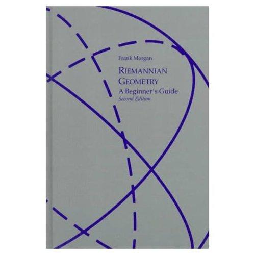 Riemannian geometry, a beginner's guide