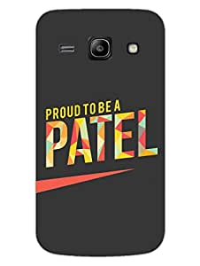 Proud To Be A Patel - Hard Back Case Cover for Samsung Core Prime - Superior Matte Finish - HD Printed Cases and Covers