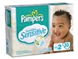Pampers Swaddlers Sensitive Sz 2 Pack of 30 by Proctor & Gamble
