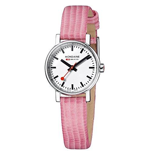 Mondaine EVO Petite A658.30301.11SBP Reloj de Pulsera para mujeres Look Estación de Trenes