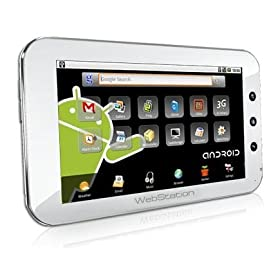 Camangi Webstation, 7-inch Android Tablet (White)