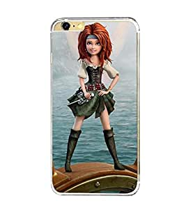 Printvisa Sailor Girl Back Case Cover for Apple iPhone 6::Apple iPhone 6S