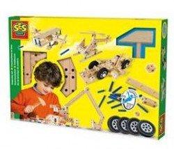 SES Creative Kids Carpentry Set - 95-parts - New