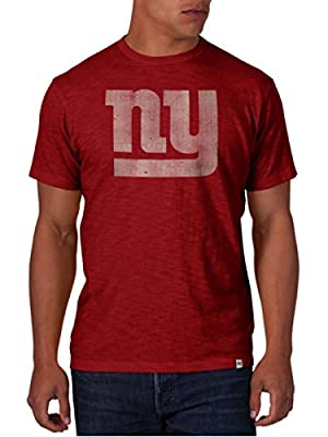 NFL New York Giants Men's '47 Brand Scrum Basic Tee