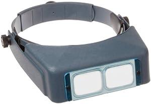 Donegan DA-5 OptiVisor Headband Magnifier, 2.5x Magnification, 8