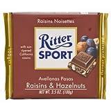 Ritter Sport Grape Chocolate Hazelnut 100 G.