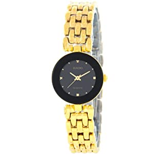 Rado Florence 318.3745.2 Black Dial Stainless Steel Ladies Watch