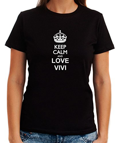 Keep calm and love Vivi Women T-Shirt