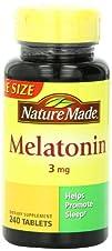 Nature Made Melatonin Tablets, Value…