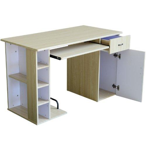 computertisch schreibtisch b rotisch mit schrank pc tisch. Black Bedroom Furniture Sets. Home Design Ideas