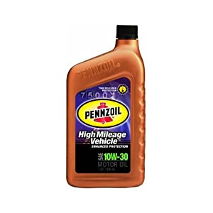 Pennzoil high mileage motor oil pack of 6 for Pennzoil high mileage motor oil