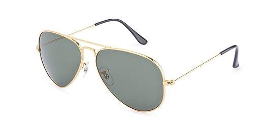 golden aviator sunglasses  Velocity Aviator Sunglasses (Golden) (VC3025GLDGRN): Amazon.in ...