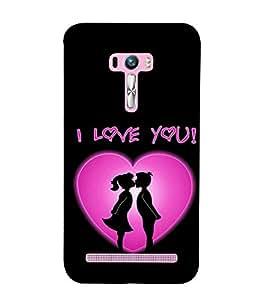 EPICCASE Couple love Mobile Back Case Cover For Asus Zenfone Selfie (Designer Case)