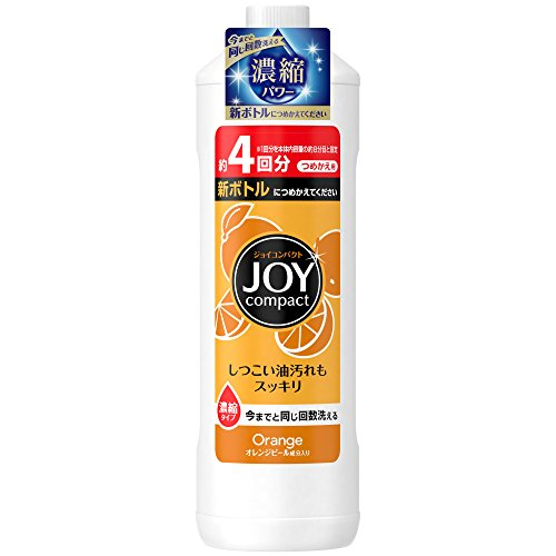 【大容量】  ジョイ コンパクト 食器用洗剤 オレンジピール成分入り 特大 615ml