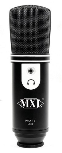 Mxl Usb Recording Microphone - Black