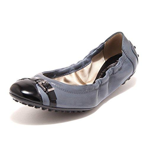 9274 ballerine donna blu nere TOD' S scarpe scarpa shoes women [36]