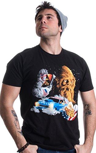 Epic USA: Bigfoot, America Burnouts, Astro Chugging, & Pie Merica Unisex T-shirt-(Adult,M)