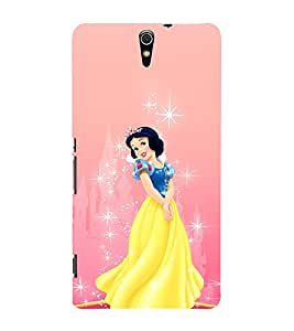 EPICCASE disney princess Mobile Back Case Cover For Sony Xperia C5 Ultra Dual (Designer Case)
