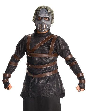 [Malevolence Costume - Large] (Child Straight Jacket Costume)