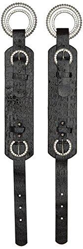 shoellery-boot-buckle-patent-decoracion-de-zapatos-adultos-unisex-color-negro-talla-talla-unica