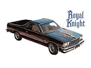 1979 1980 1981 1982 1983 Chevrolet El Camino Royal Knight Decals & Stripes Kit - RED