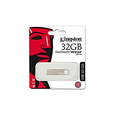 Kingston DataTraveler SE9 32GB USB 2.0 Pen Drive (metal)