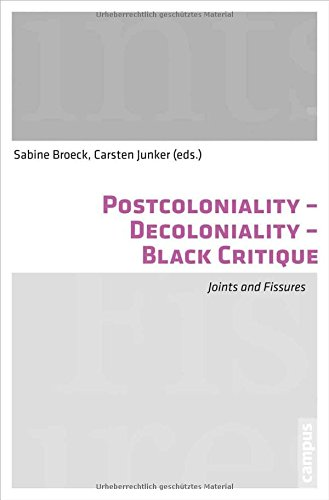 Postcoloniality-Decoloniality-Black Critique: Joints and Fissures PDF