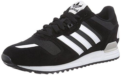 adidas ZX 700, Herren Sneakers, Schwarz (Cblack/Ftwwht/Peagre), 44 EU (9.5 Herren UK) thumbnail
