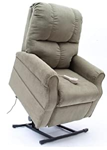 Mega Motion LC-362 Easy Comfort Three Position Position Lift Chair - Navy