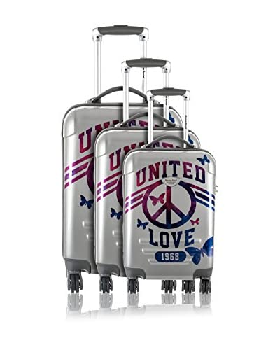 American Revival Set Trolley United Love