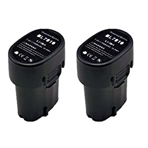 Replacement 2x Makita Lithium Ion Battery BL7010Customer review