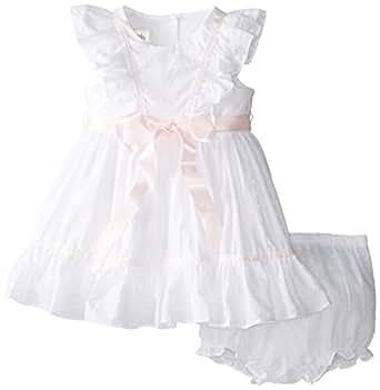 Amazon Laura Ashley London Baby Girls White Eyelet