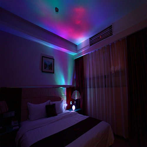 soaiy rotation sleep soothing color changing aurora night