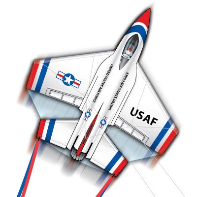 Thunderbirds F16 Fighting Falcon Kite
