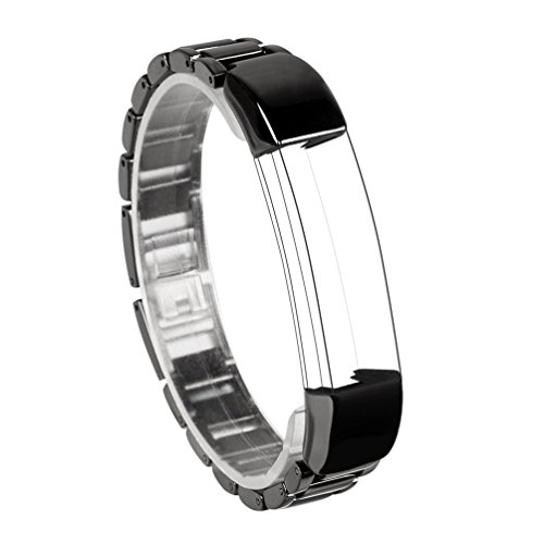 For Fitbit Alta Band, Wearlizer Smart Watch Metal Wristband Replacement Strap for Fitbit Alta - Black (Advance Auto Gift Card compare prices)