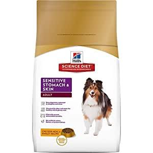 Hill's Science Diet Adult Sensitive Stomach & Skin Dry Dog Food, 15.5-Pound Bag