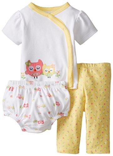 7e0a0dc3e2ec Gerber Baby-Girls Newborn 3 Piece Take Me Home Set Shirt - Import It All