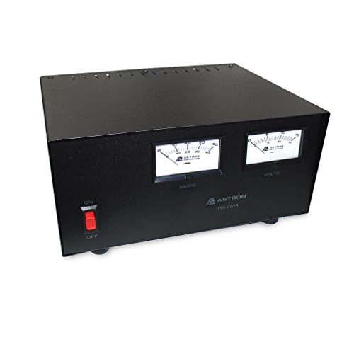 Astron RS35M 35 AMP POWER SUPPLY WITH METER