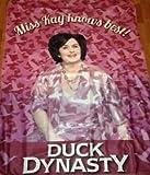 A&E Duck Dynasty Miss Kay Polar Throw Blanket