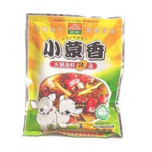 2 Bags Mengxiang Hot Pot Sauce (Spicy) 7.05 oz D&J Asian Market