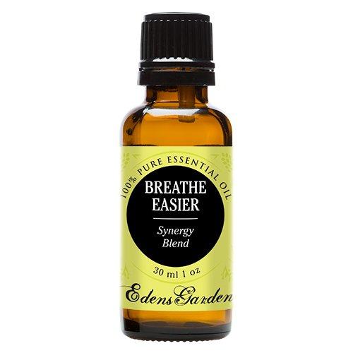 Breathe Easier Synergy Blend Essential Oil by Edens Garden (Peppermint, Rosemary, Lemon & Eucalyptus)- 30 ml
