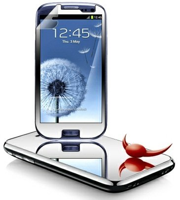 MIRROR Screen Protector For SAMSUNG GALAXY S3