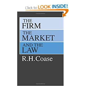 The Firm, the Market, and the Law book
