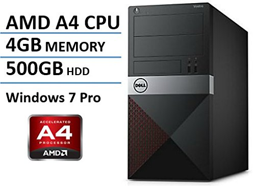Newest Dell Vostro Desktop, AMD A4-7300