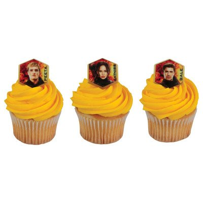 12 Ct. The Hunger Games: Mockingjay Part 2 Cupcake Rings (Hunger Games Cake Topper compare prices)
