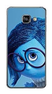Upper case Fashion Mobile Skin Sticker for Samsung Galaxy a3 2016