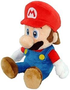 "Super Mario Plush - 8"" Mario Soft Stuffed Plush Toy (Japanese Import)"