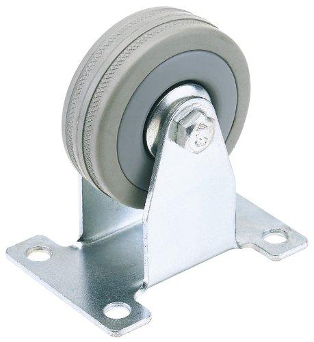 draper-65482-100mm-dia-fixed-plate-fixing-rubber-castor-swl-80kg