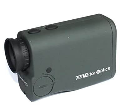 TAC Vector Optics Rover 6x25 Golf Laser Range Finder 650m Beeline Heigh Angle Measurement Color Green by TAC Vector Optics