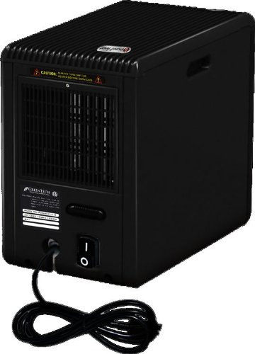 B00447V478 pureHeat – Heater & Air Purifier Large Area 1000 SqFt 5600BTU 1500 Watts With Remote In A New Compact Size For Tight Spaces